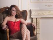 redhead emma willing perform