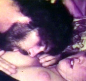 Sexy vintage girl turning him on in the seventies…