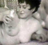 A long hardcore vintage threesome in the sexual…