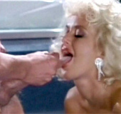 Bathing retro blonde fucks and sucks a horny dudes&hellip;
