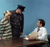 Very horny advocate fucks his hot criminal client…