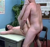 Horny dude in his office shagging a retro chick&hellip;
