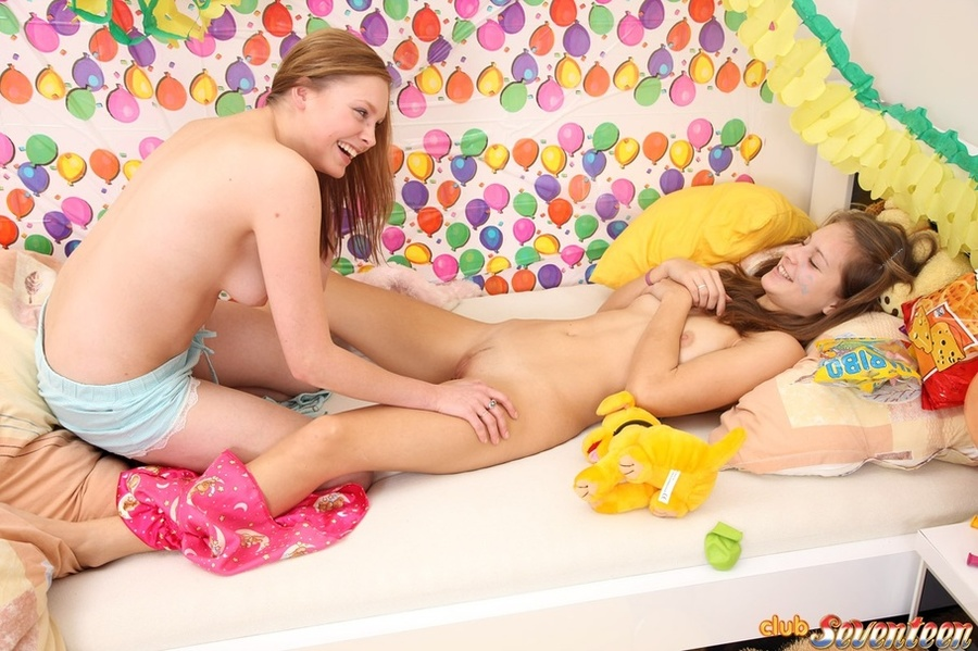 Girls Explore Each Other