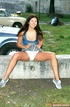 Awesome hottie agrees to public exposure