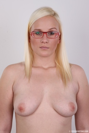Kinky slut with eyeglasses takes one up  - XXX Dessert - Picture 10