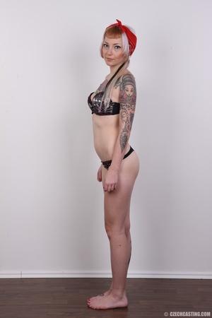 Hot tattoed slut submits her wet drippin - XXX Dessert - Picture 8