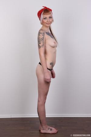 Hot tattoed slut submits her wet drippin - XXX Dessert - Picture 13