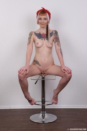 Hot tattoed slut submits her wet drippin - XXX Dessert - Picture 24