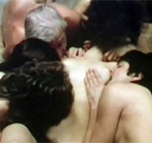 Very hot vintage group sex suck and fuck from…