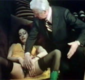 Retro Dutch porno with same room group sucking and…