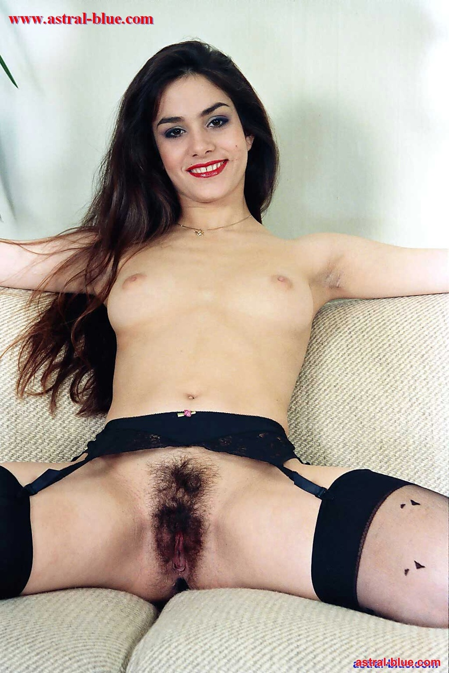 girls with black hair porn