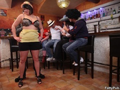 Fun loving fat girls go wild in hot BBW action sucking - Picture 4