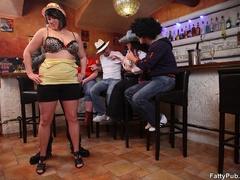Fun loving fat girls go wild in hot BBW action sucking - Picture 4