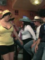 Fat chicks show no shame striping nude - Picture 4