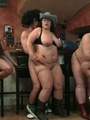Fat chicks show no shame striping nude - Picture 15