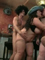 Fat chicks show no shame striping nude - Picture 16
