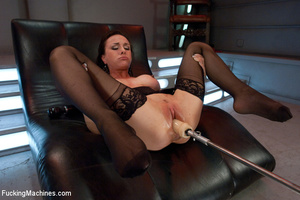 Pretty sexy damsel moans all the way to  - XXX Dessert - Picture 2