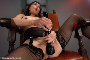Pretty sexy damsel moans all the way to  - XXX Dessert - Picture 7