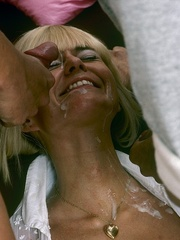 Cum in Rosalyns face is what this woman - XXX Dessert - Picture 8