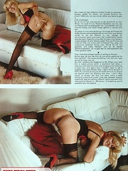 Retro sexy babes with cum all over their - XXX Dessert - Picture 3