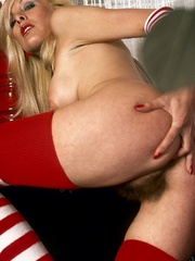Gorgeous beauty in red and white - XXX Dessert - Picture 7