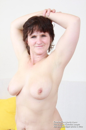 Cute plump mommy go wild and show pussy and tits while playing with dildo - XXXonXXX - Pic 15