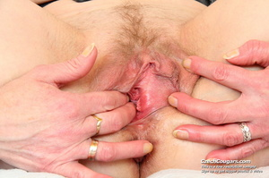 Matured mama show tits and pussy before masturbating with big dildo and fingers - XXXonXXX - Pic 7