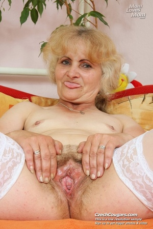 5, Czech Blonde Girl Playing With Di