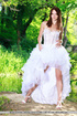 naughty bride-to-be gets naked