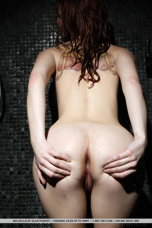 Tattooed redhead reveals perfect curves  - XXX Dessert - Picture 10