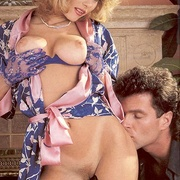 Classy eighties lady in blue stockings - XXX Dessert - Picture 6