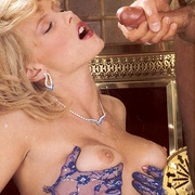 Classy eighties lady in blue stockings - XXX Dessert - Picture 15
