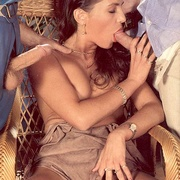 Eighties brunette receives two big - XXX Dessert - Picture 8