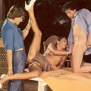Eighties brunette receives two big - XXX Dessert - Picture 10