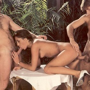 Eighties brunette receives two big - XXX Dessert - Picture 14