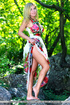 Hot blonde russian goes rock-climbing with her…