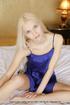 Gorgeous young dutch blonde displays her swollen…