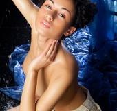 Naughty iraqi milf displays her hairy snatch and…
