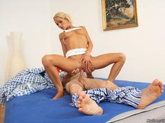 Son catches his father while pounding girlfriend's - XXXonXXX - Pic 6