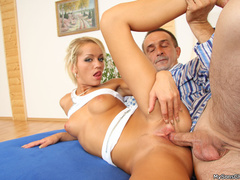 Son and dad fucking her dirty horny girlfriend - XXXonXXX - Pic 3