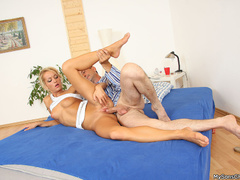 Son and dad fucking her dirty horny girlfriend - XXXonXXX - Pic 6