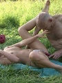 Horny dad fucking son's girlfriend wet - Picture 16
