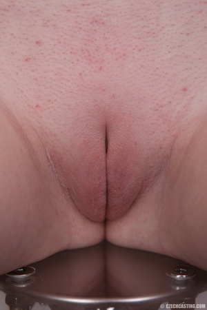 Longhaired blonde strips to show off her - XXX Dessert - Picture 20