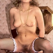 Hairy seventies lady pleasing a young - XXX Dessert - Picture 9