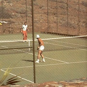 Hairy tennis playing retro ladies fucked - XXX Dessert - Picture 1
