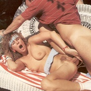 Hairy tennis playing retro ladies fucked - XXX Dessert - Picture 13