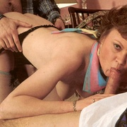 Turned on seventies lady joins a hard and - XXX Dessert - Picture 10