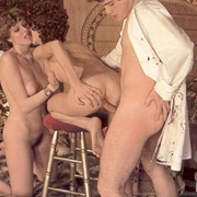 Painter fucking two of his horny and hairy - XXX Dessert - Picture 15