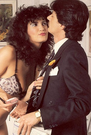 Hairy seventies lady in stockings enjoys - XXX Dessert - Picture 2