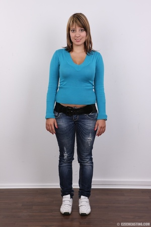 Sweet looking plump girl models big tits - XXX Dessert - Picture 2